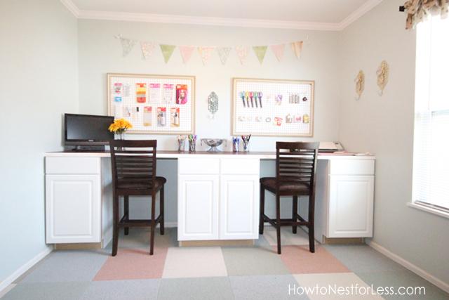 craft room desk