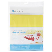 silhouette double sided adhesive