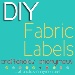 photo regarding Printable Clothing Labels called Craftaholics Anonymous® 13 Guidelines upon How towards Generate Garments Labels