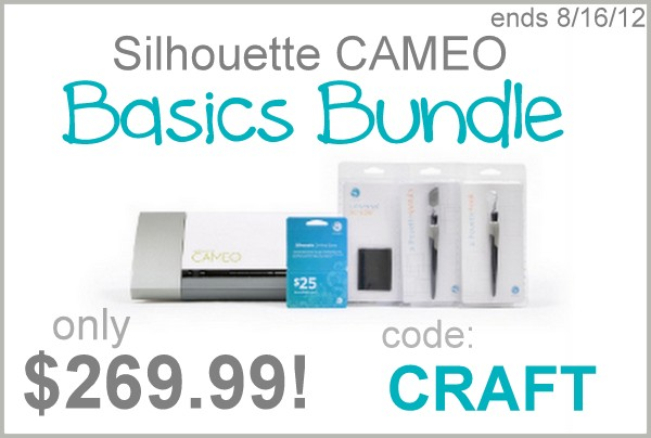 silhouette cameo discount