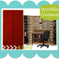 HUGE WorkBox GIVEAWAY from The Original Scrapbox!