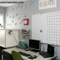 Craft Room TOUR with Megan at Polish the Stars