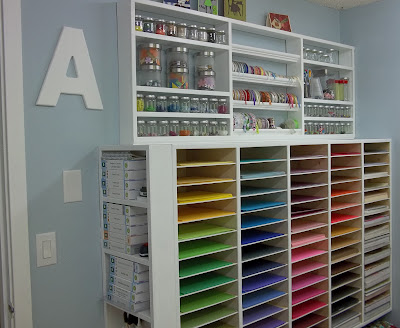 paper and craft storage
