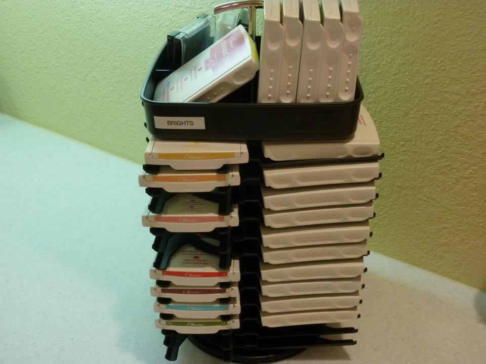 stamp storage