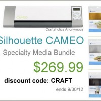 Newest CAMEO Giveawawy winner + Silhouette discount