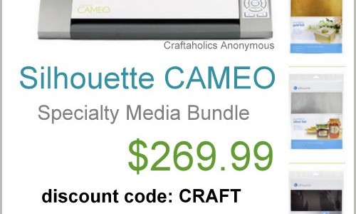 silhouette cameo coupon
