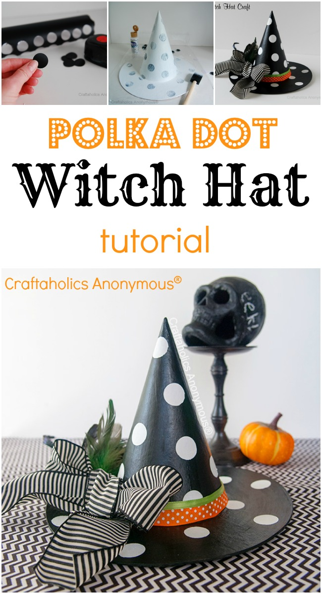 Simple Witch Hat Tutorial!