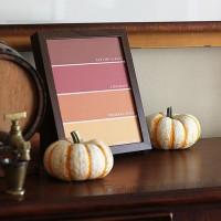 Autumn Paint Chip: Fall Printable