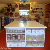 Garage turned Craft Room TOUR with The Ivy Cottage Blog