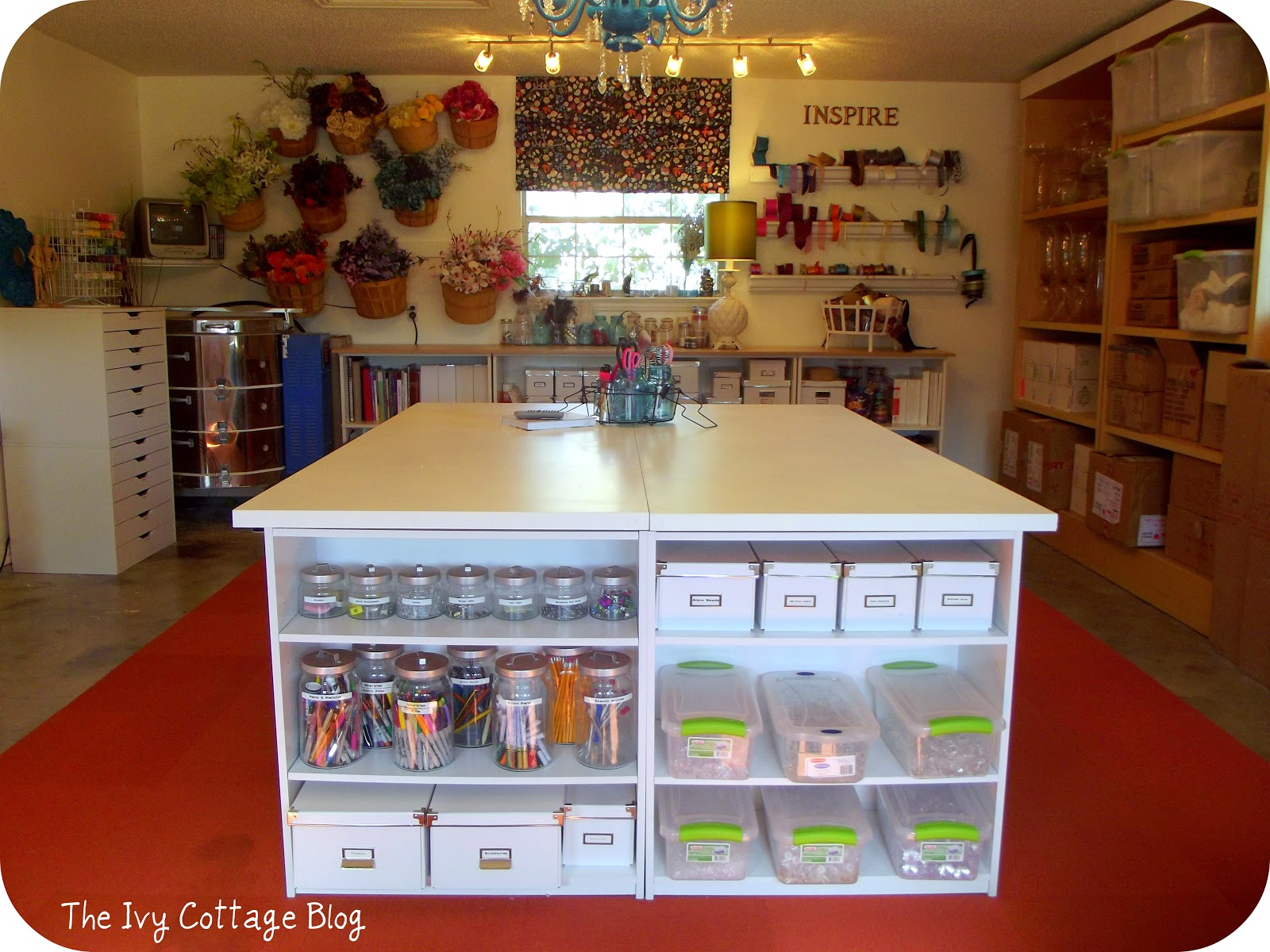 Craftaholics Anonymous Craft Room TOUR Amanda At The