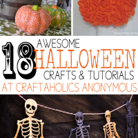 18 Awesome Halloween Crafts & Tutorials