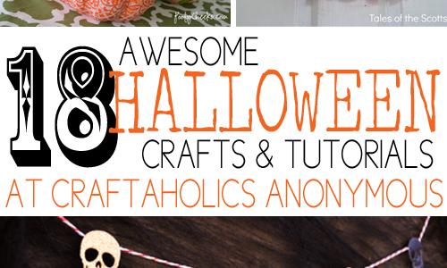 halloween crafts collage