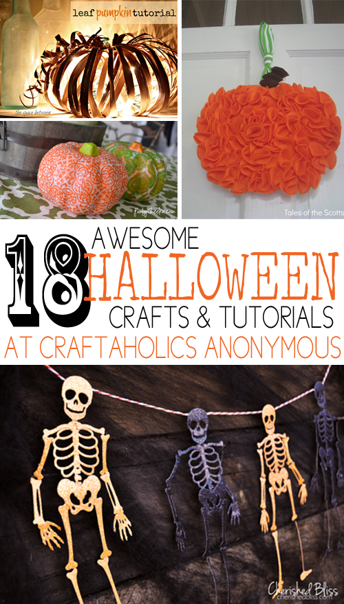 halloween crafts collage