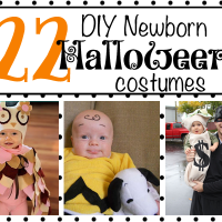 22 DIY Newborn Halloween Costumes