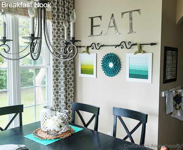 Craftaholics Anonymous 174 Breakfast Nook Reveal