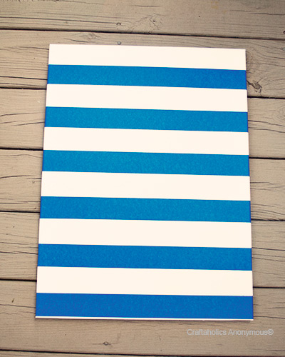 stripe canvas