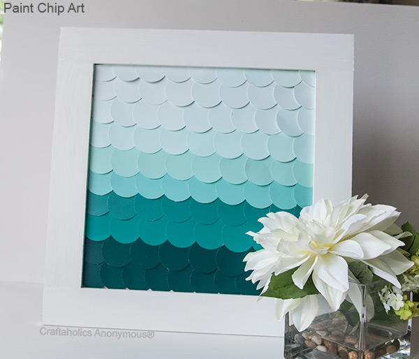 paint chip diy