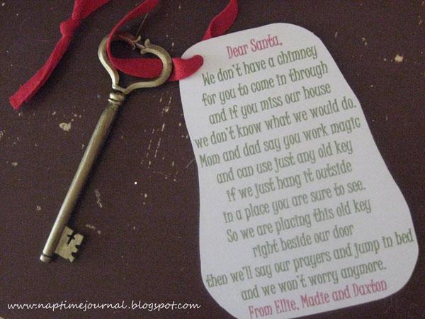 DIY Santa Key