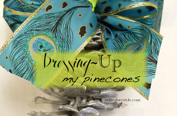 dress up your pine cones