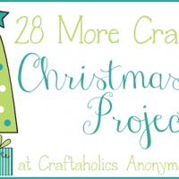 28 Christmas Craft Projects