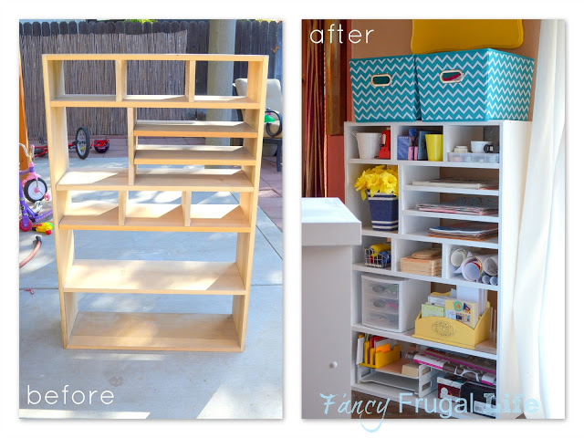 shoe rack to craft storage