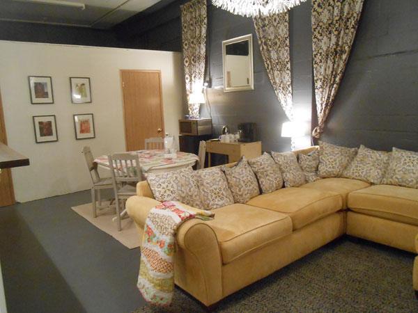 stitching lounge
