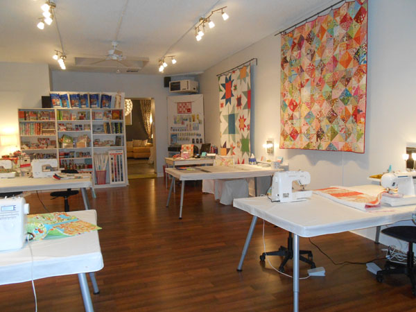 Craftaholics Anonymous Craft Room Tour West Seattle Fabric Company