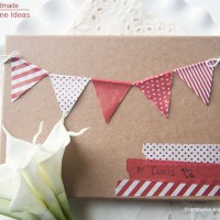 Handmade Valentine Ideas using Washi Tape