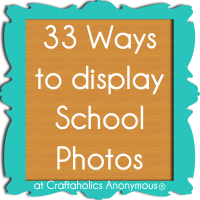 33 Ideas to Display School Photos