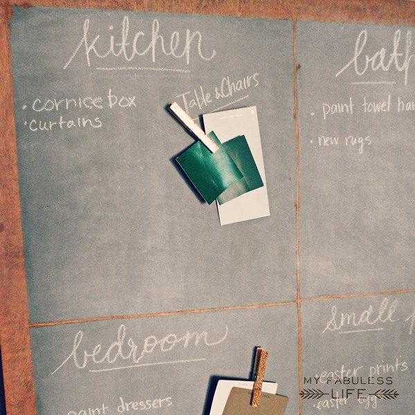 how to make chalkboard