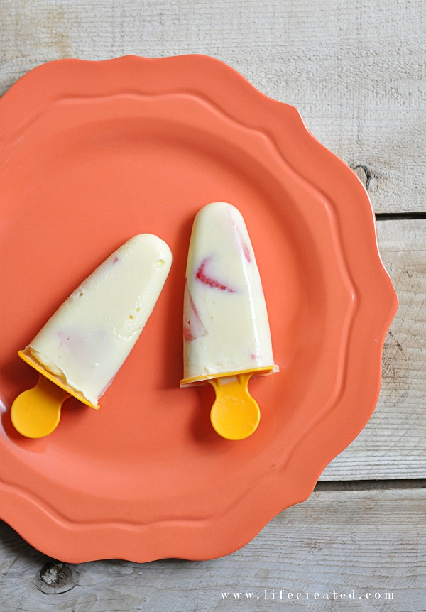 homemade pudding pops