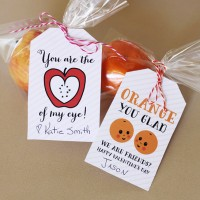 Valentine Fruit Tags- Free Printable!