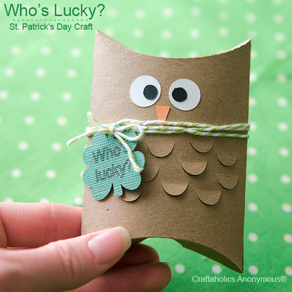 st patricks day owl