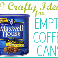 29 Coffee Can Crafts