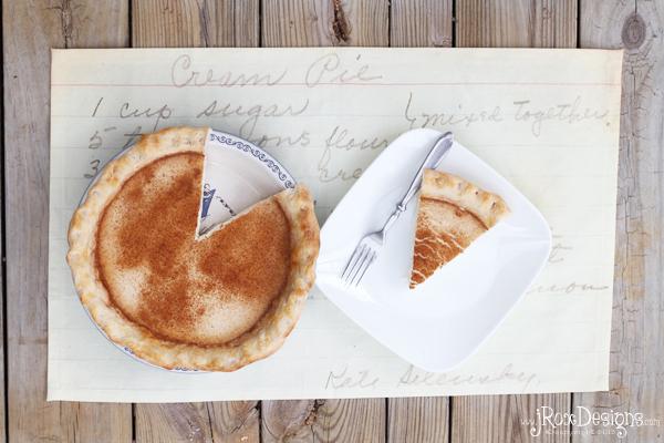 cream pie recipe