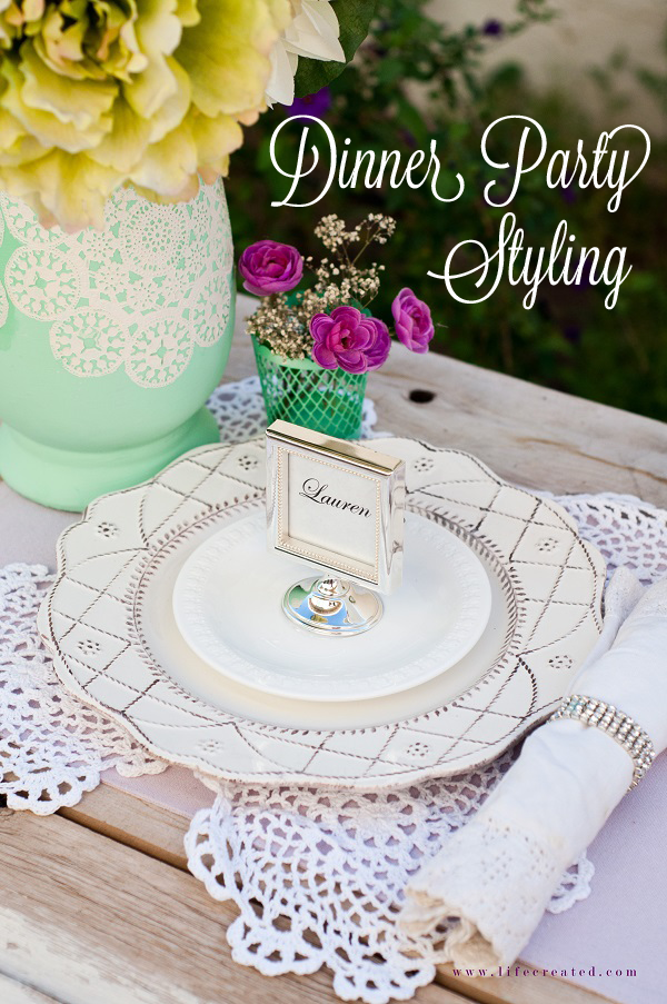 craftaholics anonymous dinner party styling ideas