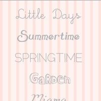Spring Fonts for Free!