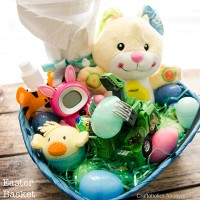 Easter Basket prep with Vtech