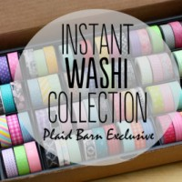 Washi Tape Collection GIVEAWAY! {$129 value}