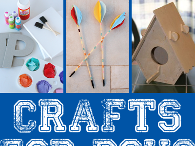 34 cool crafting ideas for boys of all ages
