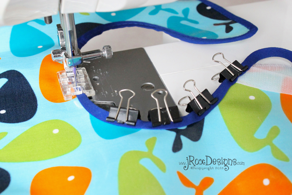 how to sew bib