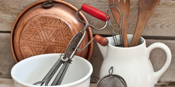 tips for starting a collection of vintage kitchen items