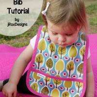 Simple Pocket Bib Pattern and Tutorial