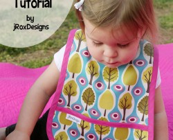 Toddler Laminated Bib by jRoxDesigns on Etsy_Title