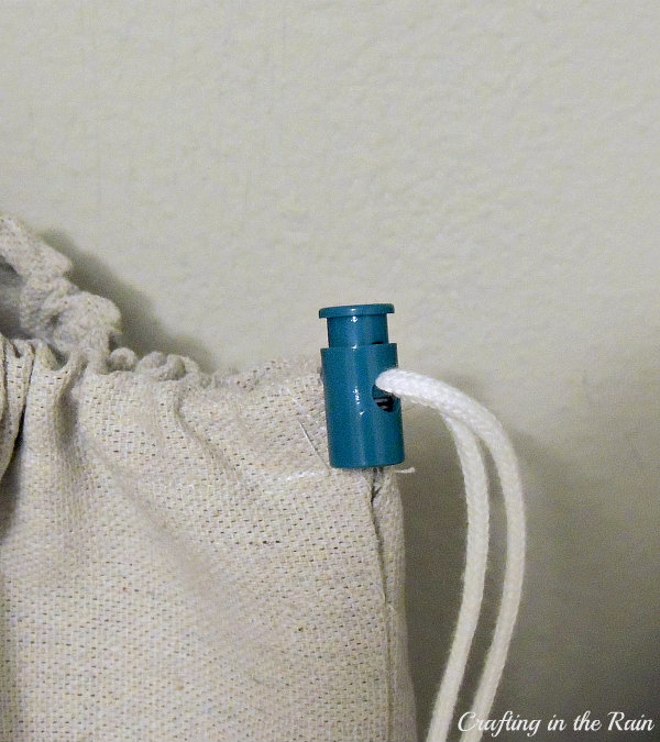 how to sew drawstring bag