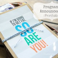 Free printable to Announce Pregnancy