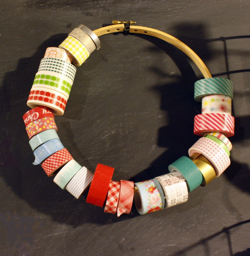 washi tape ring