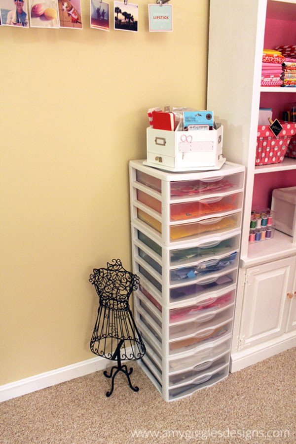 Craftaholics Anonymous Small Craft Room Tour Amy