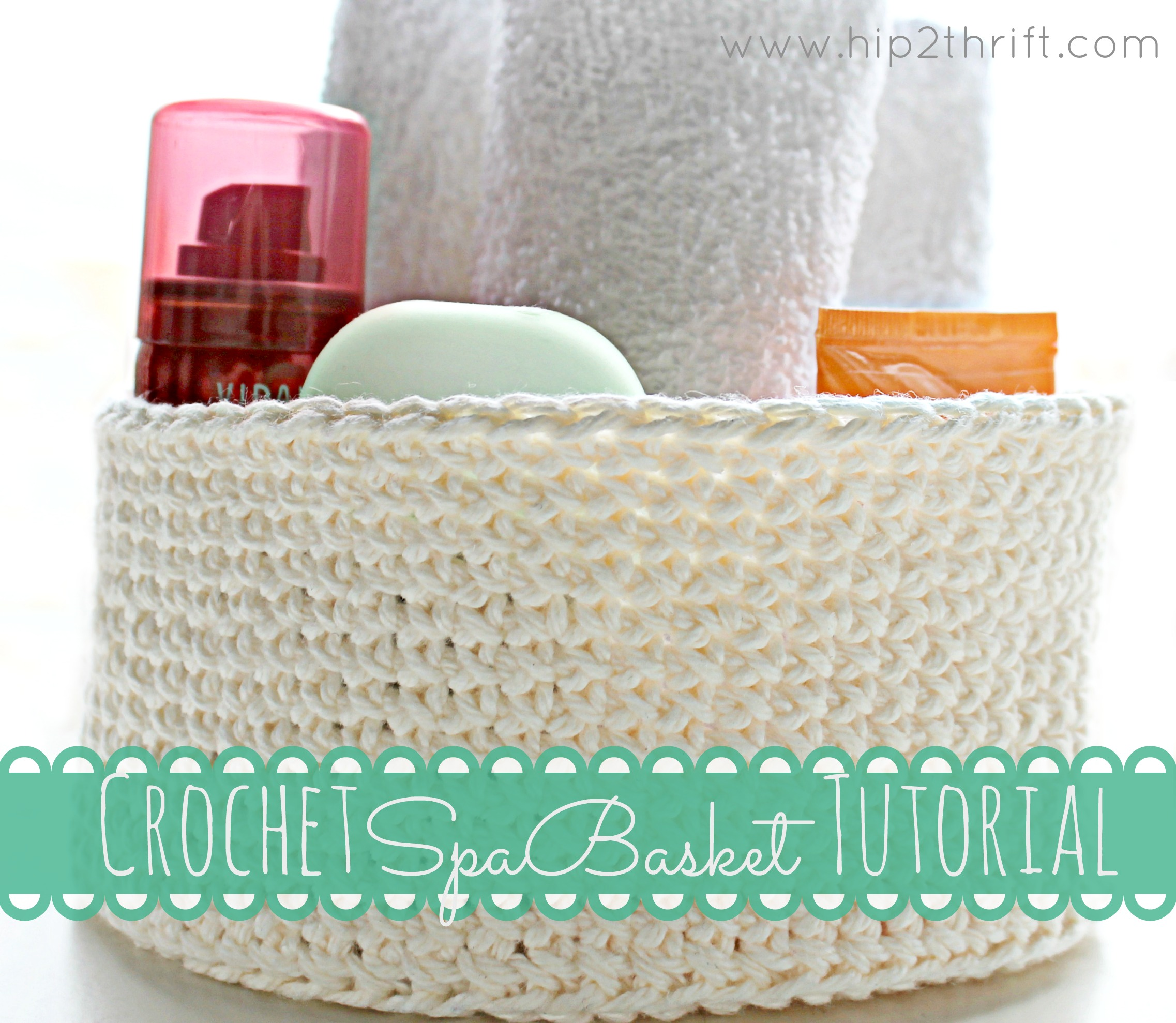 tutorial on how to crochet a basket Makes a great Mothers Day gift Mother S Day Quick Crochet Gifts To Make