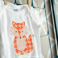 How to cut Fabric with Silhouette: Fox Onesie